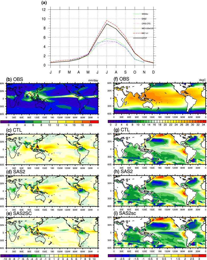 Impact of convective parameterization on the seasonal prediction