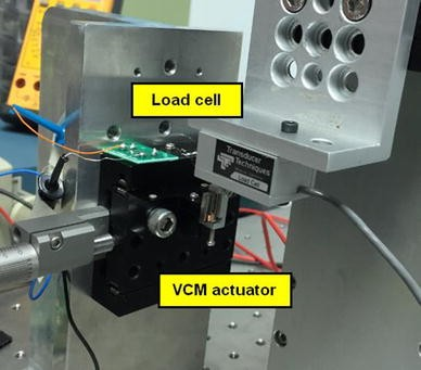 Design of VCM actuator for optical zooming smartphone cameras