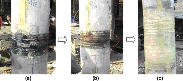 Effect of driving long pre-stressed high-strength concrete