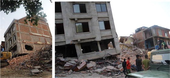 Investigation of Damage in and Around Kathmandu Valley Related to