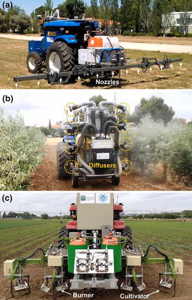 Fleets of robots for environmentally-safe pest control in