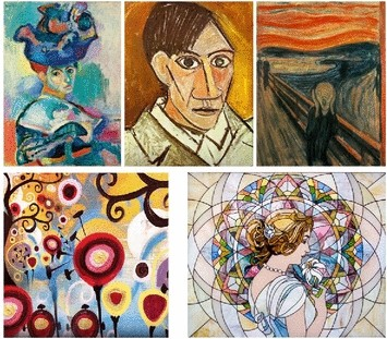 Artistic Style Transfer for Videos and Spherical Images | SpringerLink