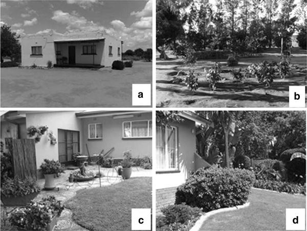 Influence of socioeconomic status on design of Batswana home gardens on house and pool design, flower and garden design, house and interior design,