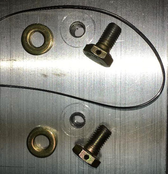 Threaded Fastener Locking With Safety Wire and Cotter Pins