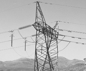 Evaluation of lightning performance of transmission lines protected