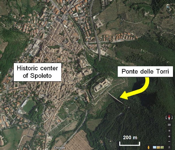 """Health assessment and ambient vibration testing of the """"Ponte delle"""