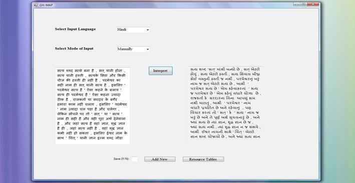 GH-MAP: translation system for sibling language pair Gujarati--Hindi