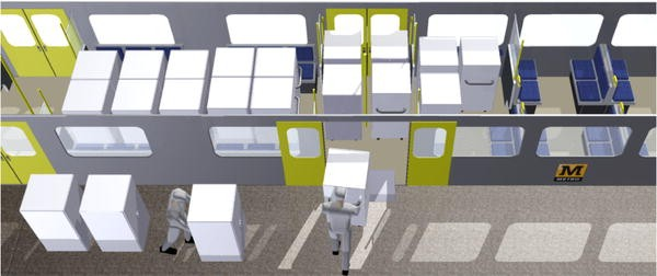 Innovative Interior Designs for Urban Freight Distribution Using