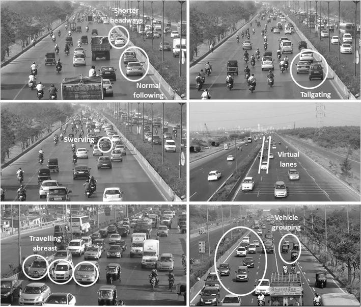 Towards Behavioral Modeling of Drivers in Mixed Traffic