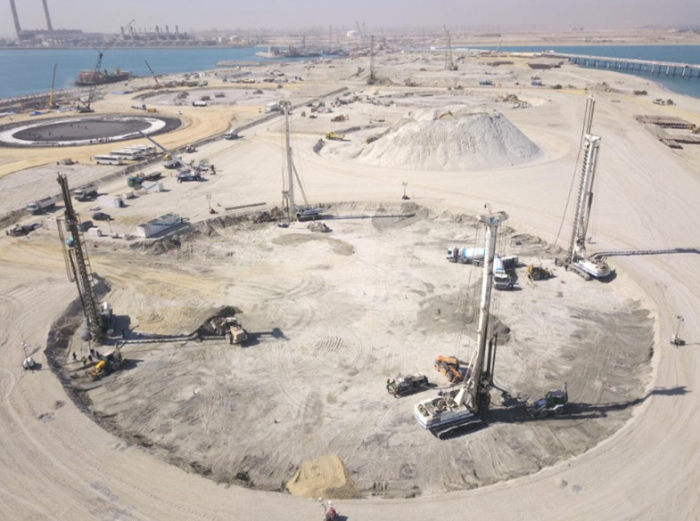 LNG tanks on rigid inclusions: Kuwait | SpringerLink