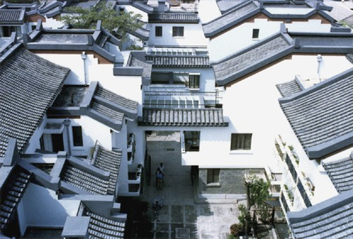 New courtyard houses of Beijing: direction of future housing ... on oklahoma houses designs, white house building designs, single story house designs,