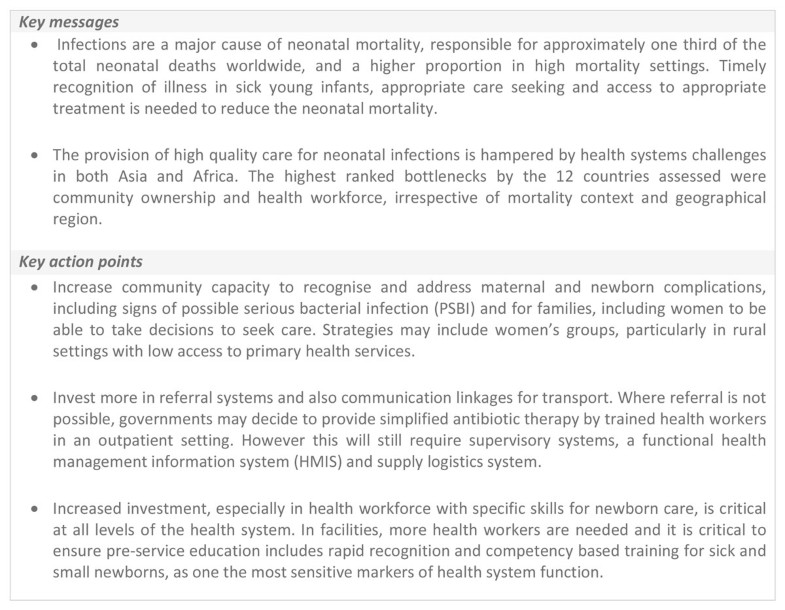 Treatment of neonatal infections: a multi-country analysis