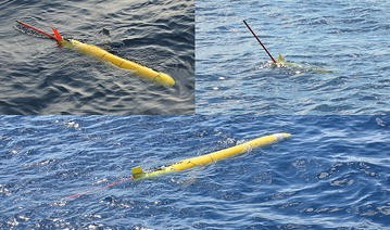Coordinate Control, Motion Optimization and Sea Experiment of a