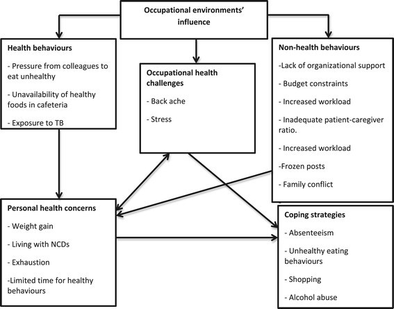 Nurses' lifestyle behaviours, health priorities and barriers