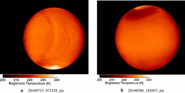 Venus looks different from day to night across wavelengths