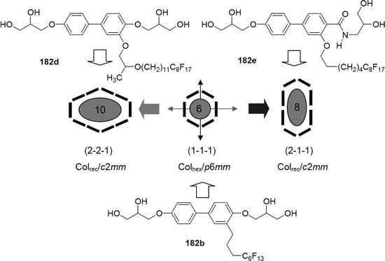 Fluorinated Liquid Crystals: Design of Soft Nanostructures