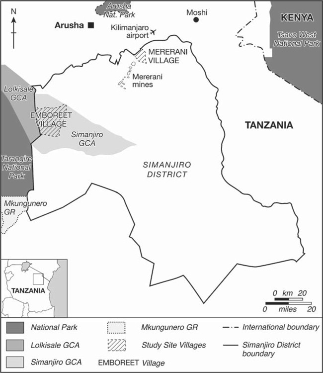 Cattle and Crops, Tourism and Tanzanite: Poverty, Land-Use Change