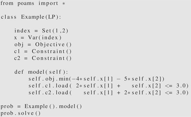 Python Optimization Modeling Objects (Pyomo) | SpringerLink