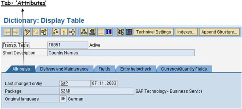 ABAP Dictionary/Data Dictionary/DDIC – 1 | SpringerLink