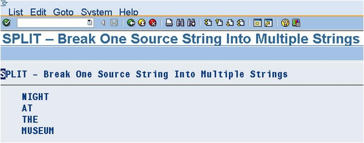 ABAP Language Basics | SpringerLink