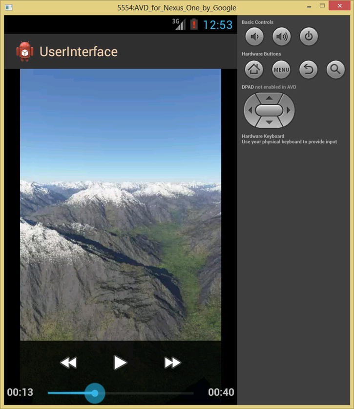 Android's FrameLayout Class: Using Digital Video in Your UI Design