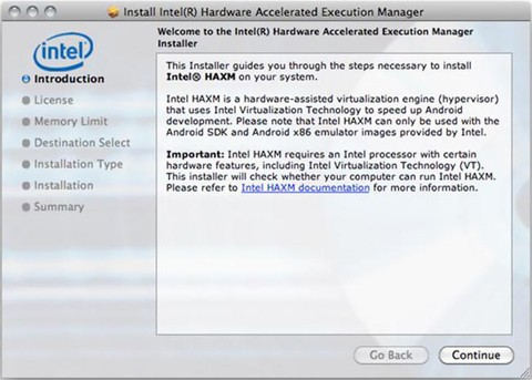 Using Intel Hardware Accelerated Execution Manager on Windows, Mac