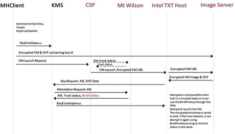Trusted Virtual Machines: Ensuring the Integrity of Virtual Machines