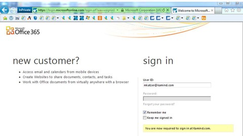 Office 365 DirSync, ADFS, Single Sign On and Exchange Federation