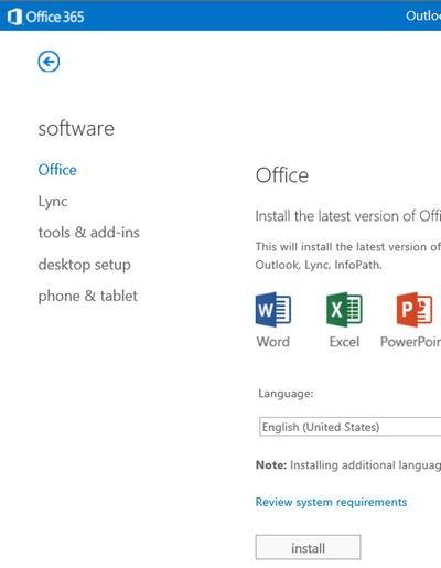 Using Office 365 and Windows Intune   SpringerLink