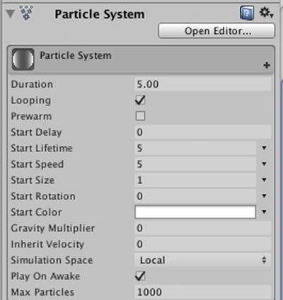Particle Emitters and Special Effects   SpringerLink