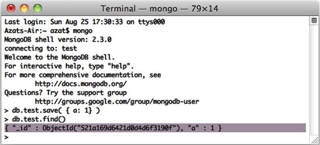 Persistence with MongoDB and Mongoskin | SpringerLink
