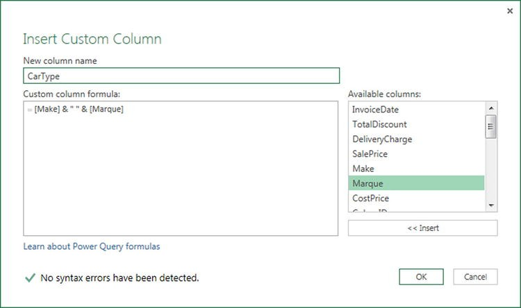 Transforming Data with Power Query   SpringerLink