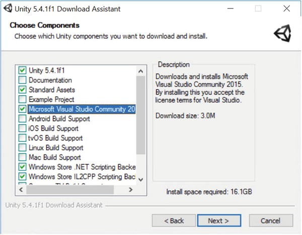 Windows Support Software Size