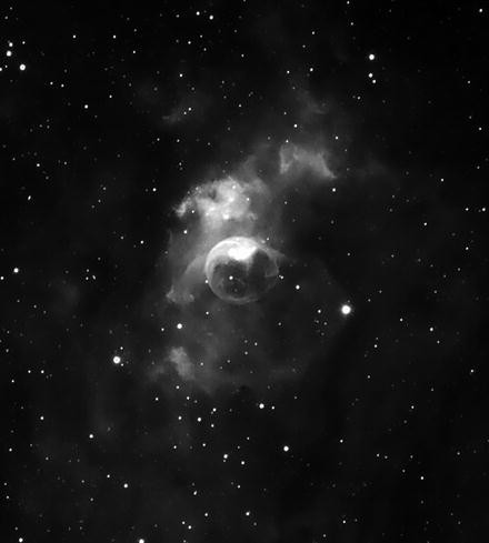 Cloud Rack Bow Tie Nebula 3 Printed Bow