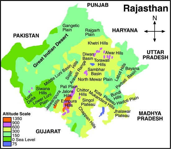 Physiography and biological diversity of rajasthan springerlink open image in new window altavistaventures Gallery