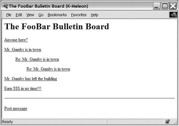 Project 7: Your Own Bulletin Board   SpringerLink