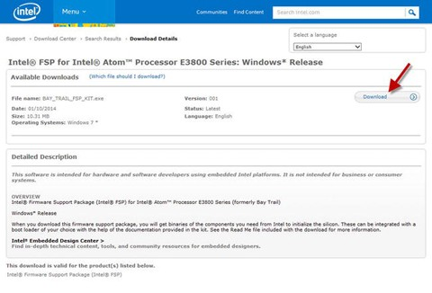 Intel® Firmware Support Package (Intel® FSP) | SpringerLink