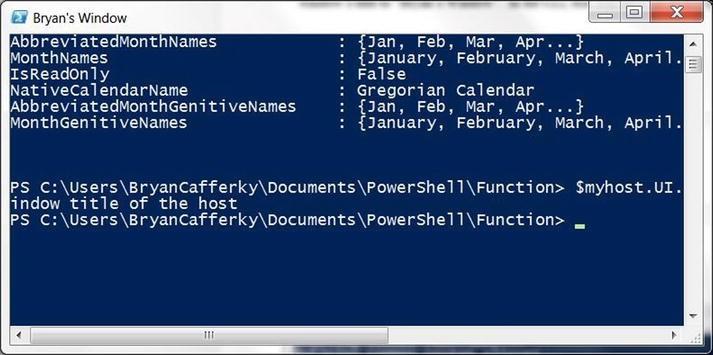 Customizing the PowerShell Environment   SpringerLink
