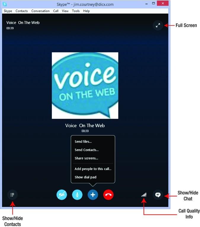 Using Skype on the Desktop   SpringerLink