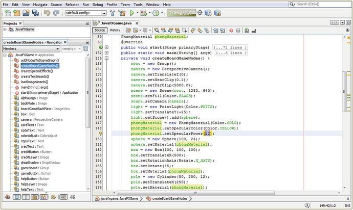 3D Model Shader Creation: Using the JavaFX 9 PhongMaterial