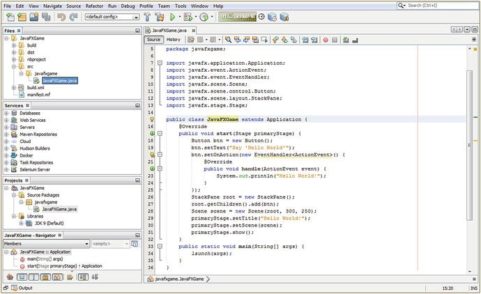 Setting Up Your Java 9 IDE: An Introduction to NetBeans 9 | SpringerLink
