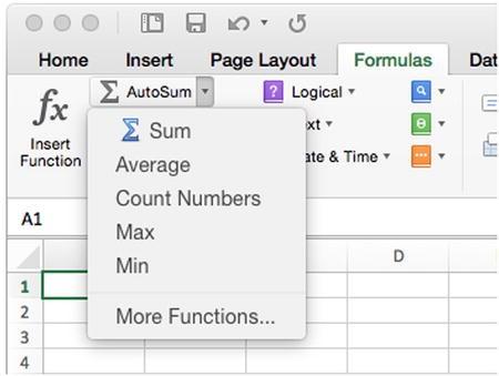 Using Excel's Built-In Functions | SpringerLink