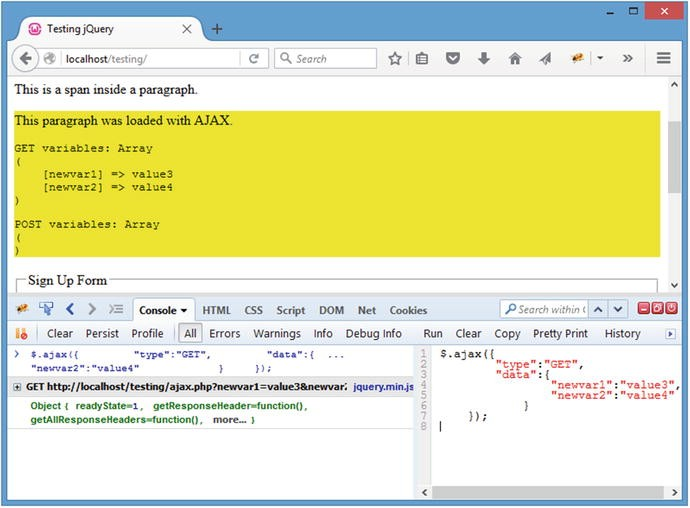 Common jQuery Actions and Methods | SpringerLink