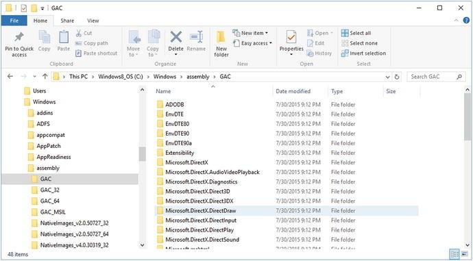 microsoft.directx.directsound.dll 64 bit
