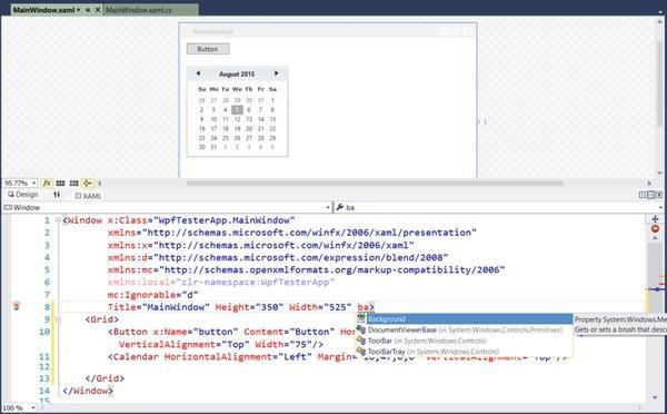 Introducing Windows Presentation Foundation and XAML