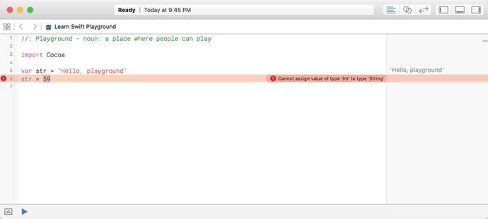 The Swift Playground in Xcode | SpringerLink