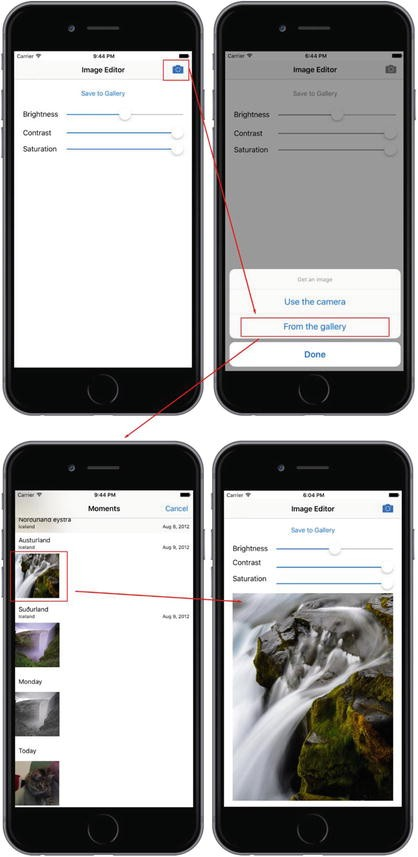 Working with the Camera and Images | SpringerLink