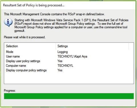 windows 7 gpresult scope computer access denied