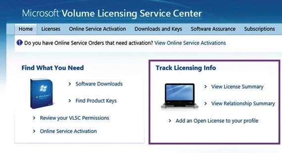 Understand Single Activations, Volume Licensing, and Software