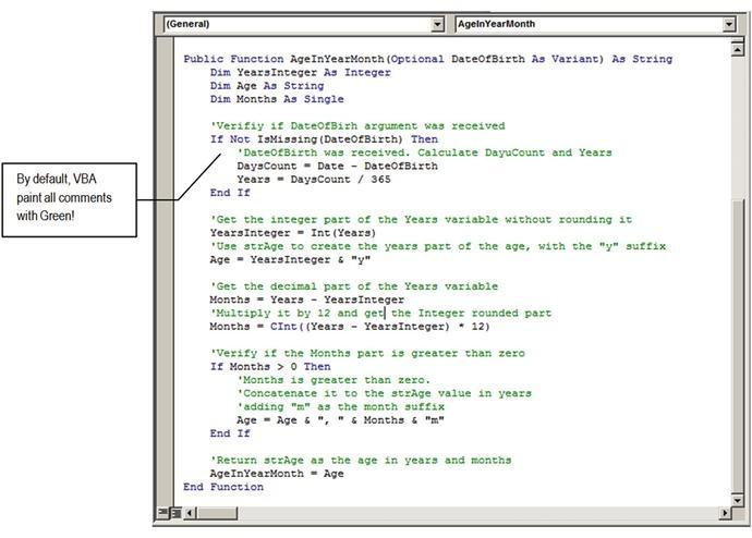 Understanding Visual Basic for Applications (VBA)   SpringerLink